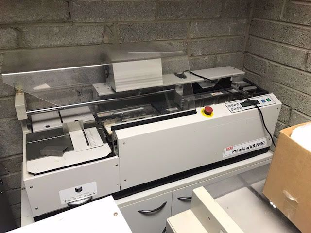 Picture of Morgana KB Printbind 2000 Perfect Binder